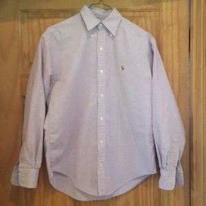 Ralph Lauren sport ladies button down shirt